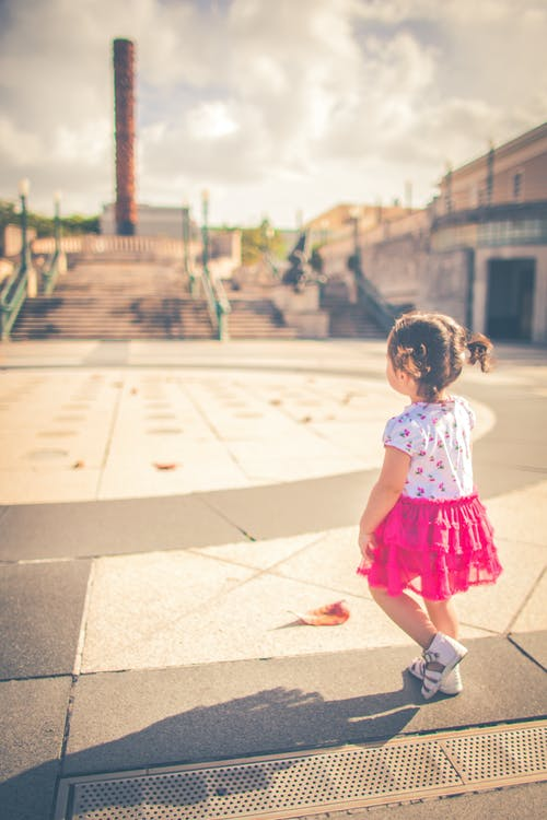 Photo Of Toddler Wearing Pink Dress
