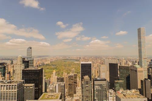Ảnh lưu trữ miễn phí về ban ngày, các tòa nhà, cảnh quay drone, cao