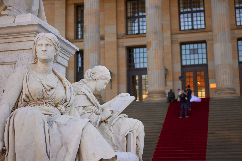 Two Women Statues