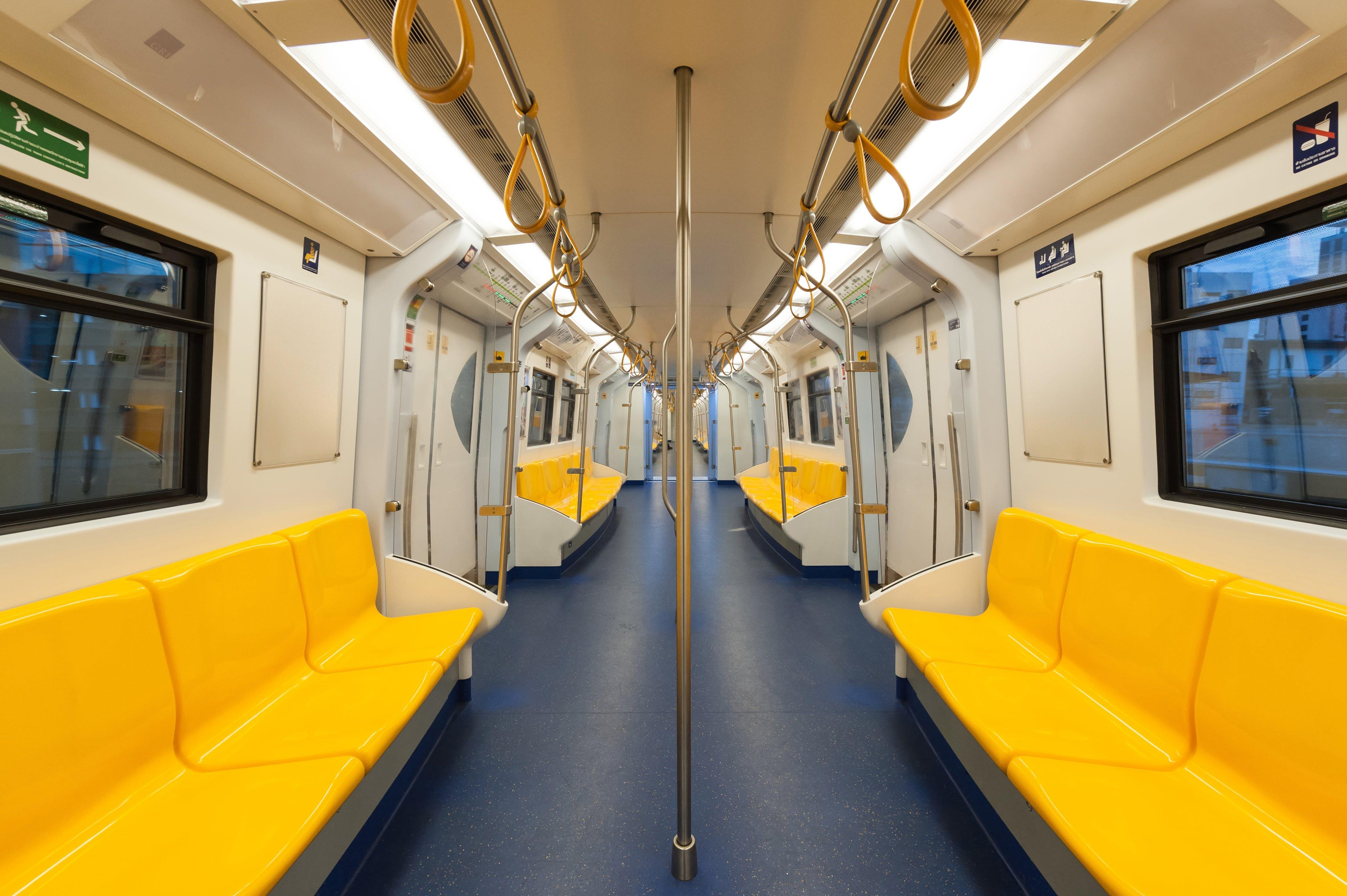 Empty Subway Train