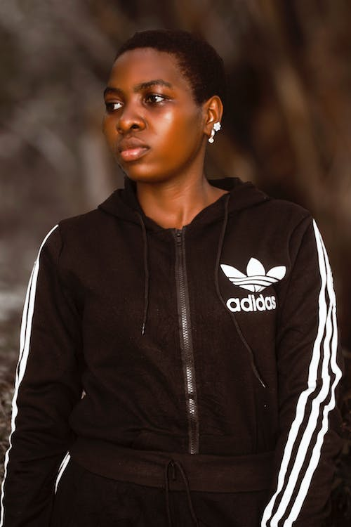 Free stock photo of adidas, african girl, athletic field