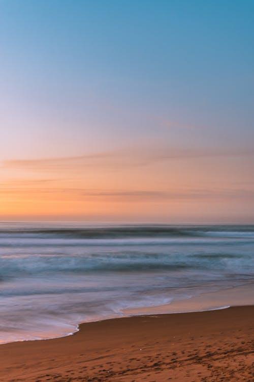 Gratis lagerfoto af atlanterhavet, blå hav, blå himmel, blåt vand