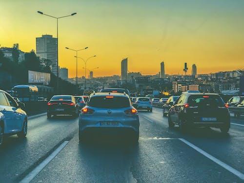 Fotobanka sbezplatnými fotkami na tému cesty, doprava, Istanbul, večerné slnko
