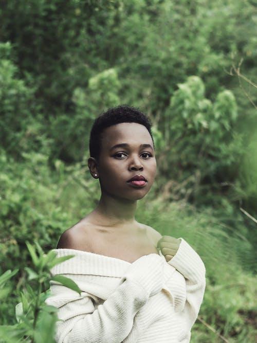 Gratis lagerfoto af afroamerikansk mand, kvinde, model, person