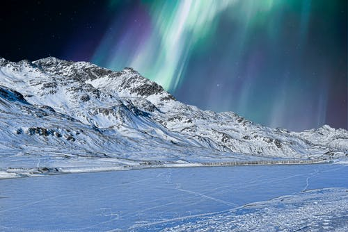 Kostnadsfri bild av aurora borealis, bakgrundsbilder mac, berg, frost