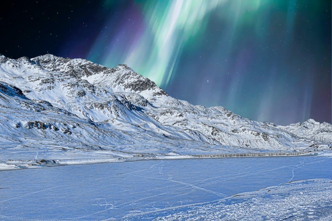 aurora borealis, flunssa, HD-taustakuva