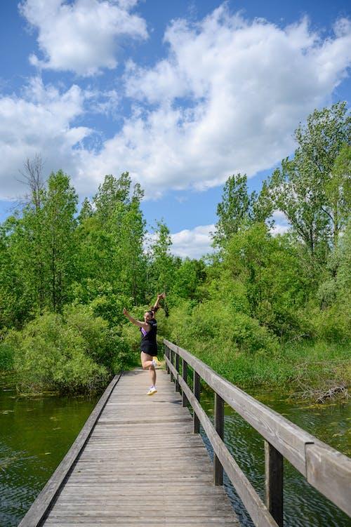 Photos gratuites de été, sauter