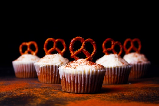 Free stock photo of food, dark, sugar, bakery
