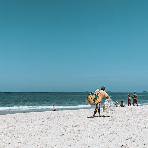 Ingyenes stockfotó árus, emberek, homok, hullámok témában