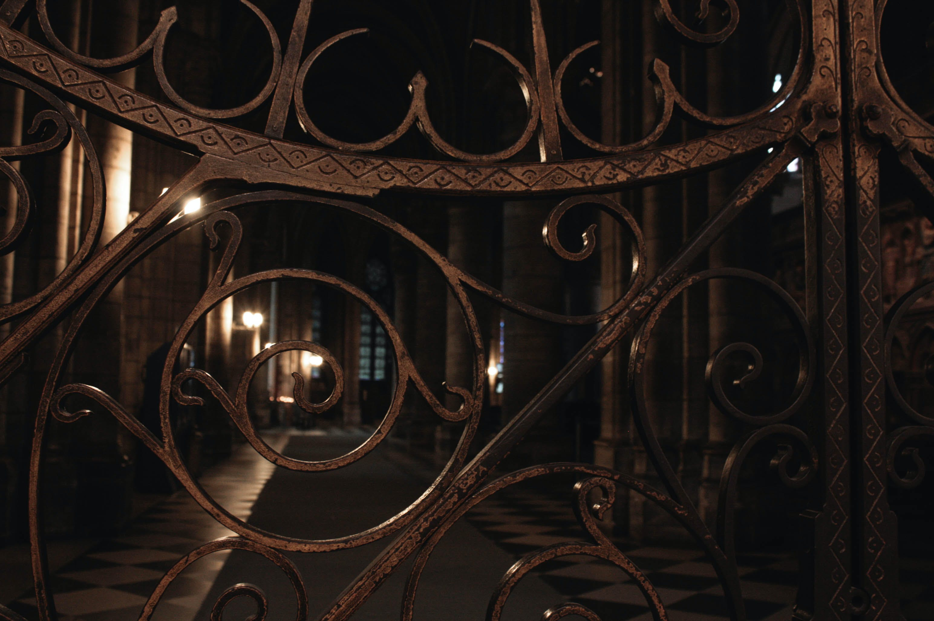 Free stock photo of church, forging, gate, gold