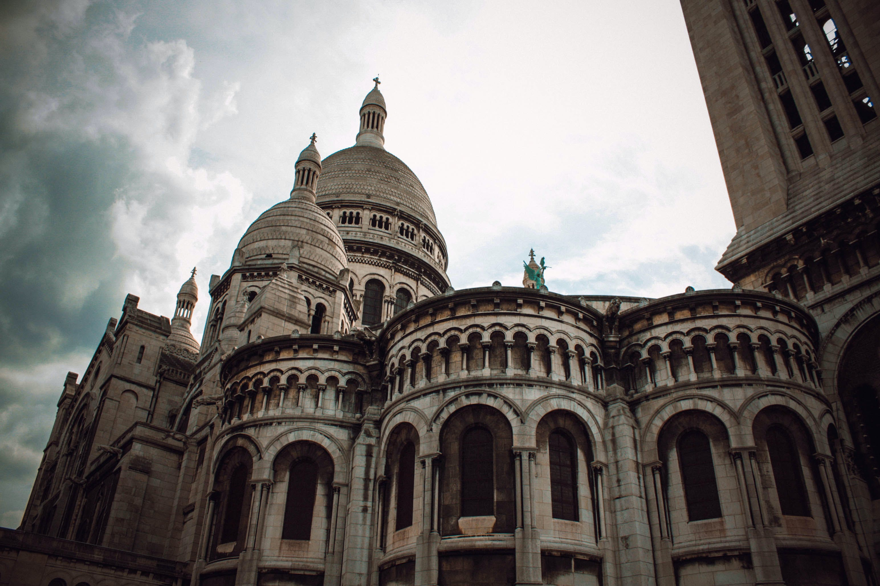 Free stock photo of castle, church, church building, montmartre