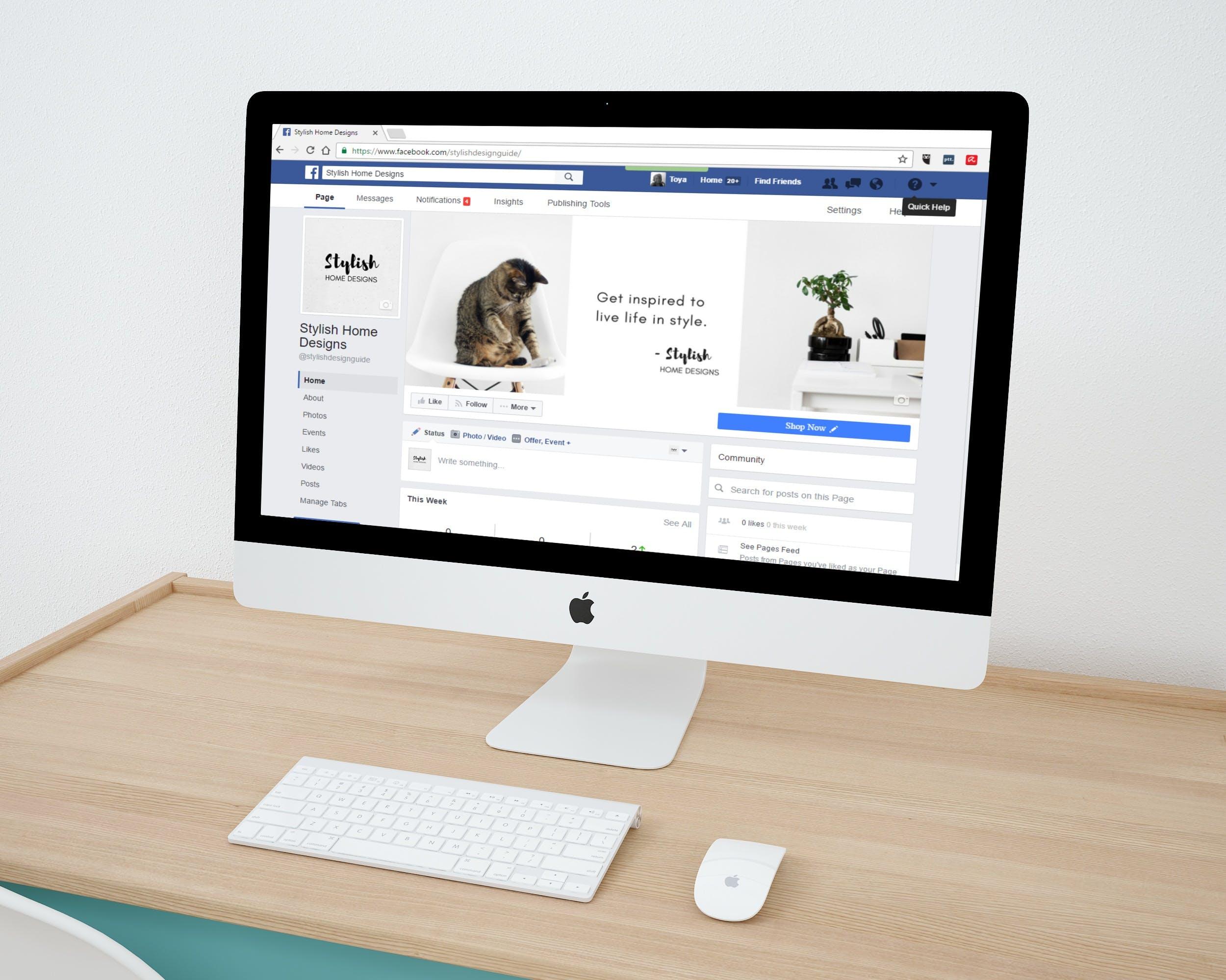Free stock photo of marketing, internet, imac, mockup