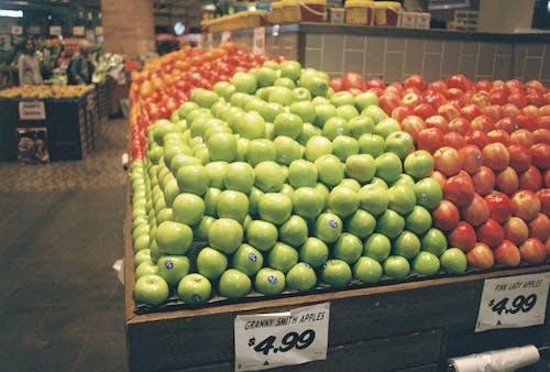 Darmowe zdjęcie z galerii z cena, czerwony, głębia pola, jabłka
