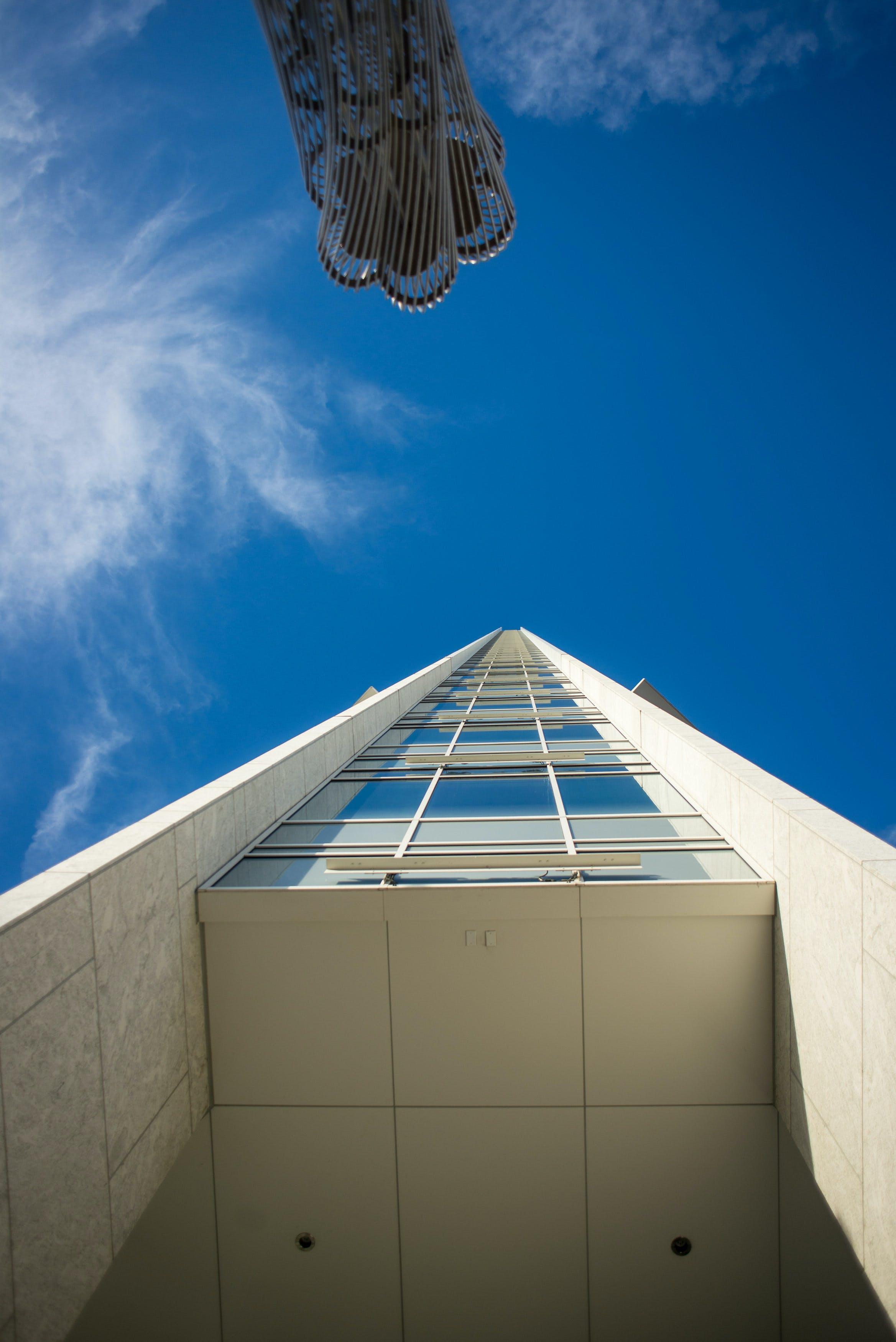 arkkitehtuuri, futuristinen, kaupunki