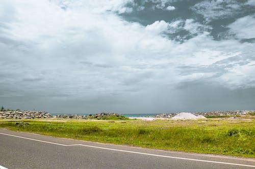 Free stock photo of beatiful landscape, cloudy sky, desktop wallpaper, grass