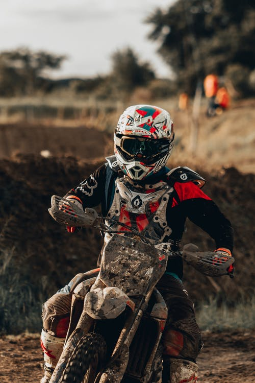 Photo Of Man Riding Dirt Bike