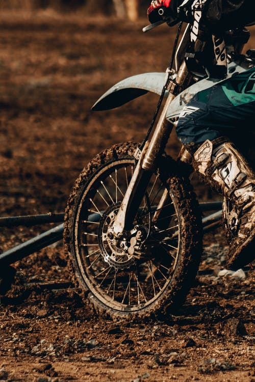 Photo of Person Riding Dirt Bike