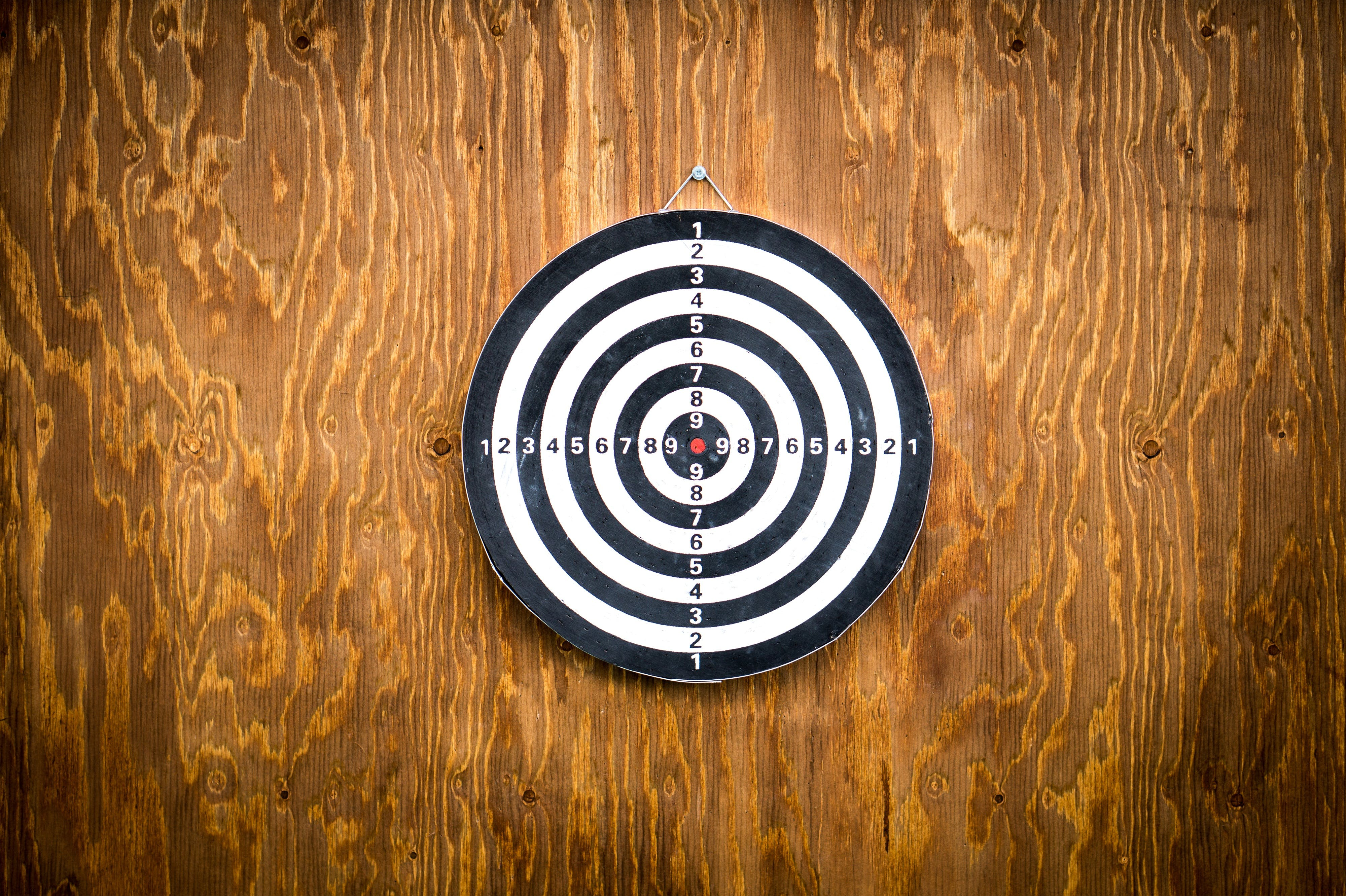 Free stock photo of arrow, competition, dart board, darts