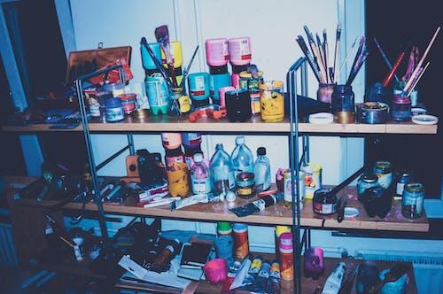 Foto d'estoc gratuïta de art abstracte, colors, estudi d'art, fons de pantalla guapos