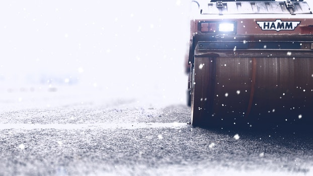 Free stock photo of cold, snow, light, road