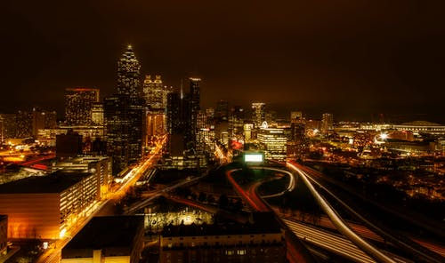 Ảnh lưu trữ miễn phí về ánh đèn thành phố, các tòa nhà, cảnh quan thành phố, cầu