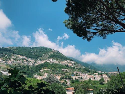 Free stock photo of amalfi, amalfi coast, architecture, blue sky