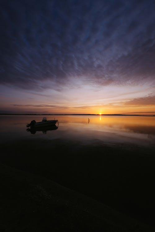 คลังภาพถ่ายฟรี ของ กลางแจ้ง, การสะท้อน, ขอบฟ้า, ชายทะเล