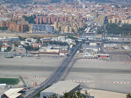 Δωρεάν στοκ φωτογραφιών με αεροδρόμιο του γιβραλτάρ