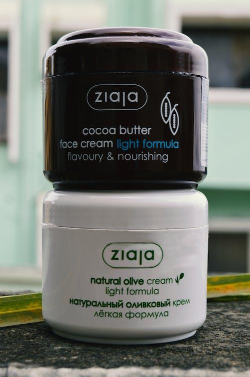Free stock photo of cocoa butter, cream, face cream, natural cream