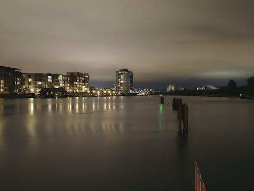 คลังภาพถ่ายฟรี ของ กลางคืน, น้ำ, โคเปนเฮเกน