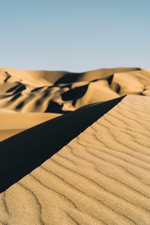 Foto d'estoc gratuïta de àrid, desert, dunes, dunes de sorra