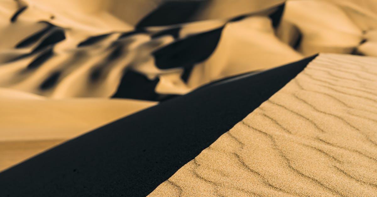 steep sand dune pursued - HD3549×5323