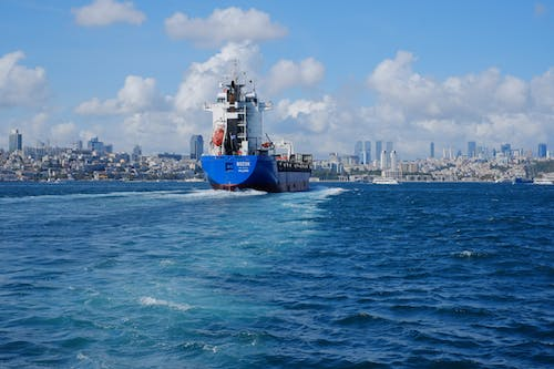 Free stock photo of container ship, Istanbul