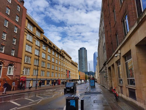 Free stock photo of buildings, busy street, london