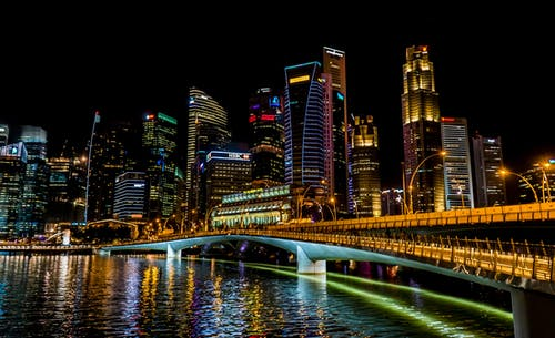Ảnh lưu trữ miễn phí về bờ sông, các tòa nhà, cảnh quan thành phố, cầu