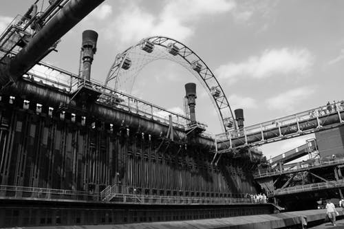 Photos gratuites de bâtiment industriel