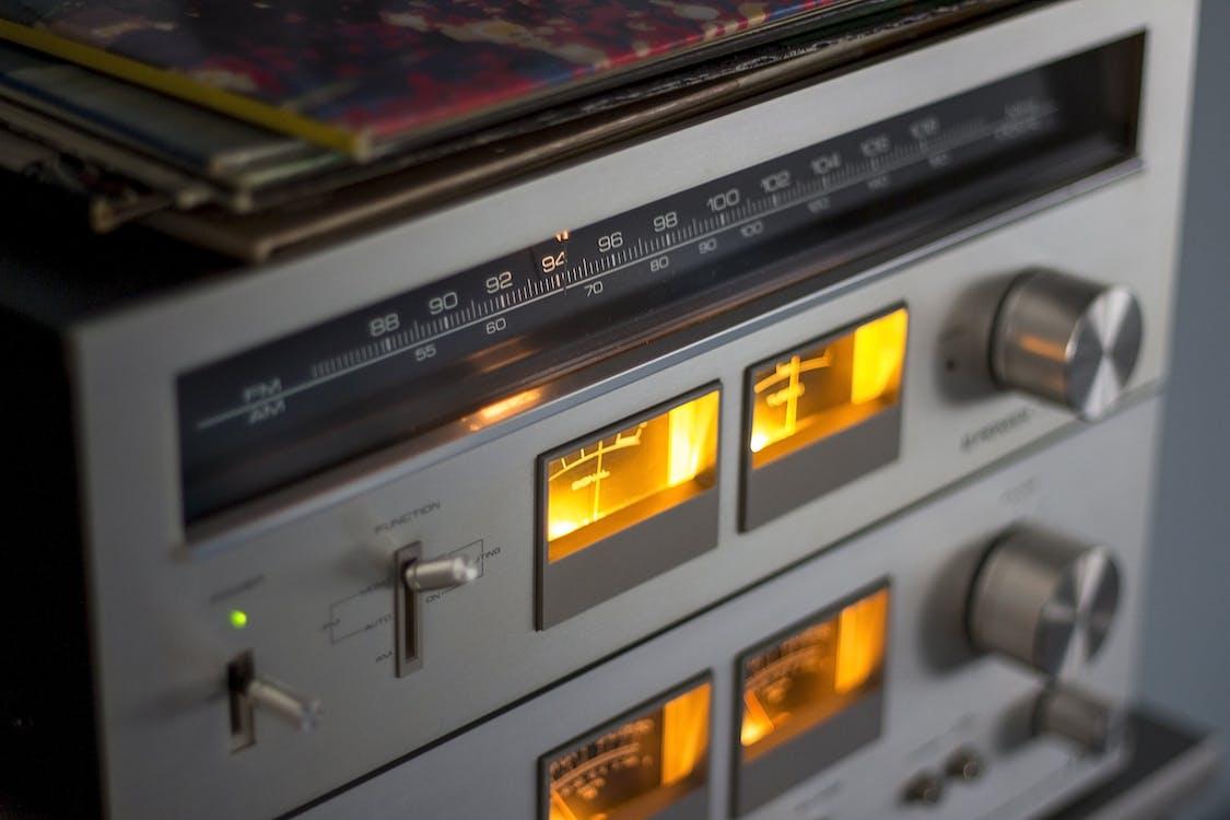 Turned-on Am Radio