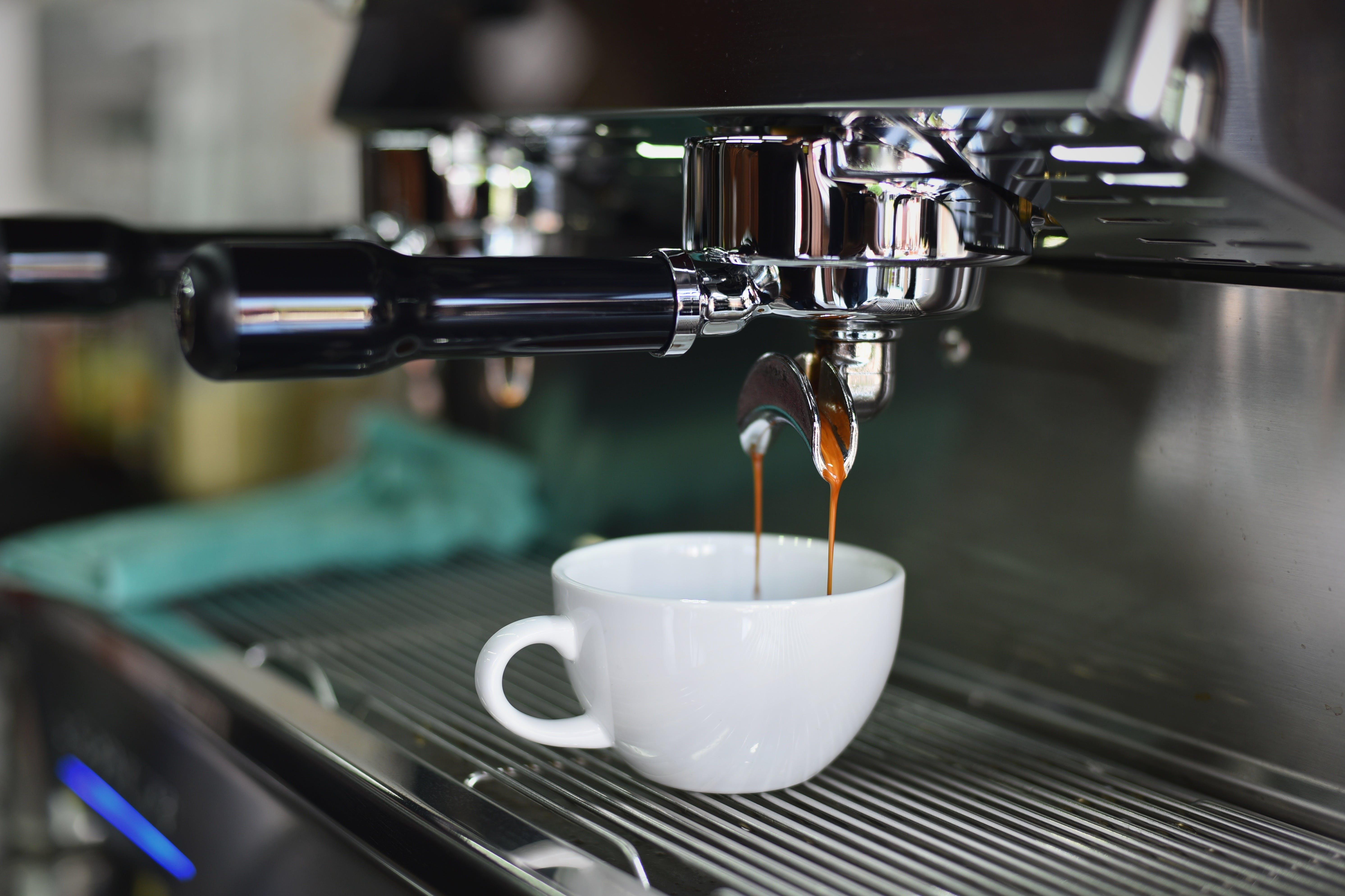 drink, ekspres do kawy, espresso