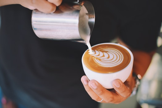 Free stock photo of hands, art, caffeine, coffee