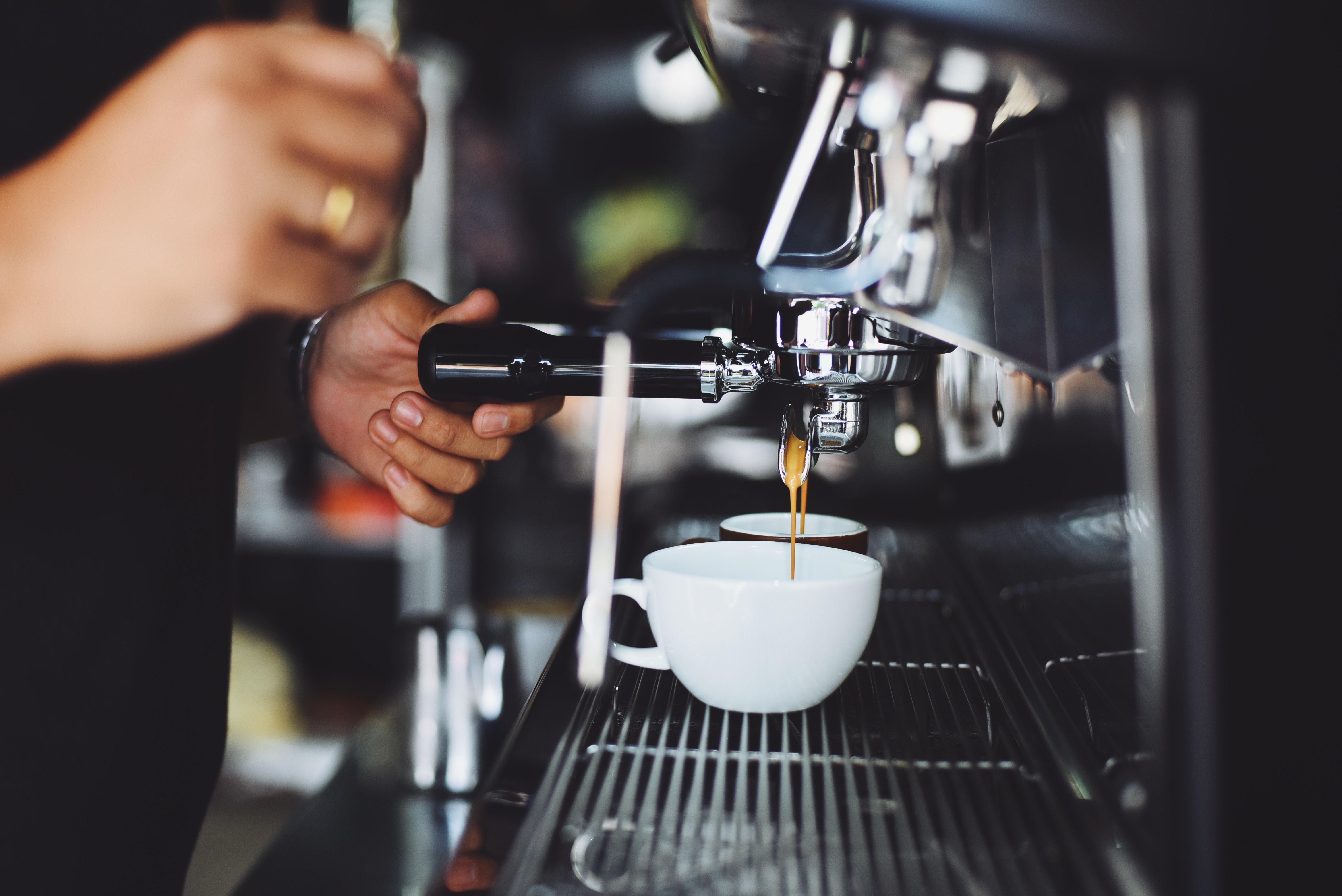 Professional Coffee Machine Restaurant 183 Free Stock Photo