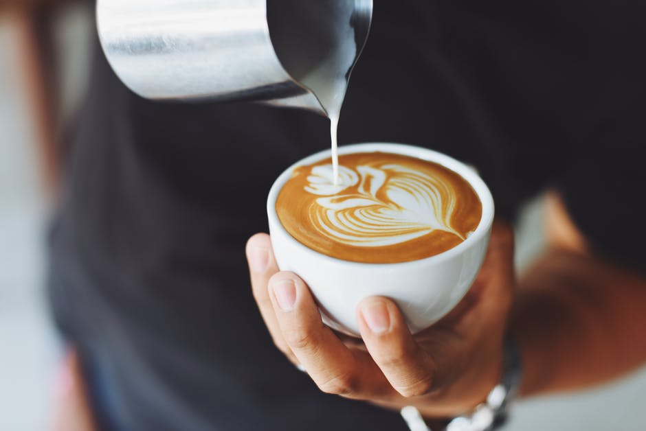art, blur, cappuccino