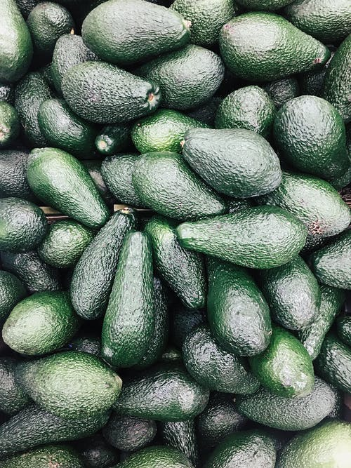Pile Of Avocado Fruits