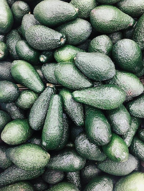 Pile Of Avocado Fruits
