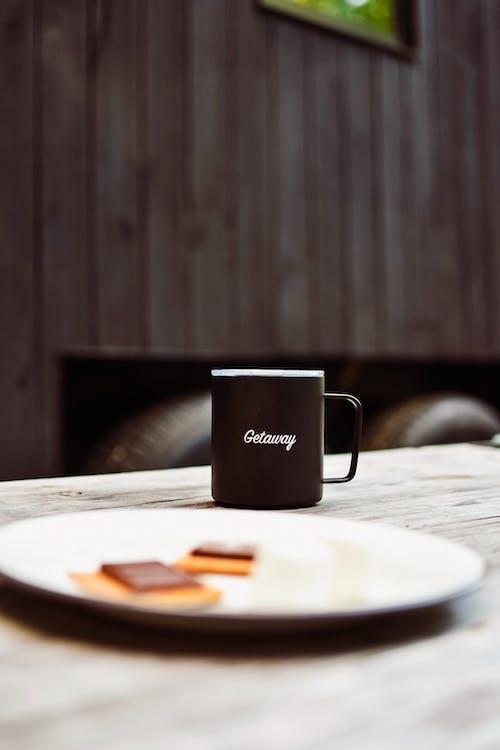 Foto stok gratis cangkir, cangkir kopi, di luar rumah, kafein