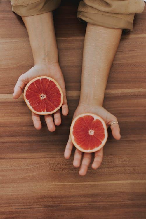 Gratis lagerfoto af Citrus, citrusfrugt, frugt, grapefrugt