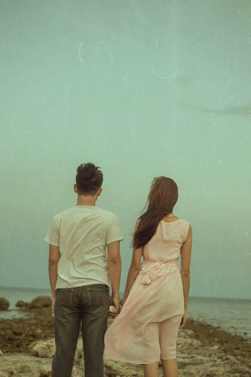 Ảnh lưu trữ miễn phí về biển, con gái, cùng với nhau, đại dương