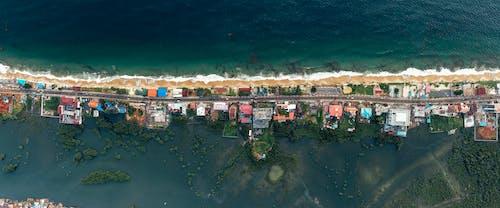 Безкоштовне стокове фото на тему «аерознімок, Аерофотозйомка, берег, Берегова лінія»
