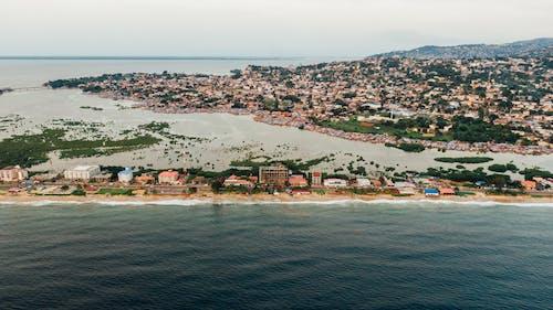 Kostnadsfri bild av arkitektur, hamn, hav, havsstrand