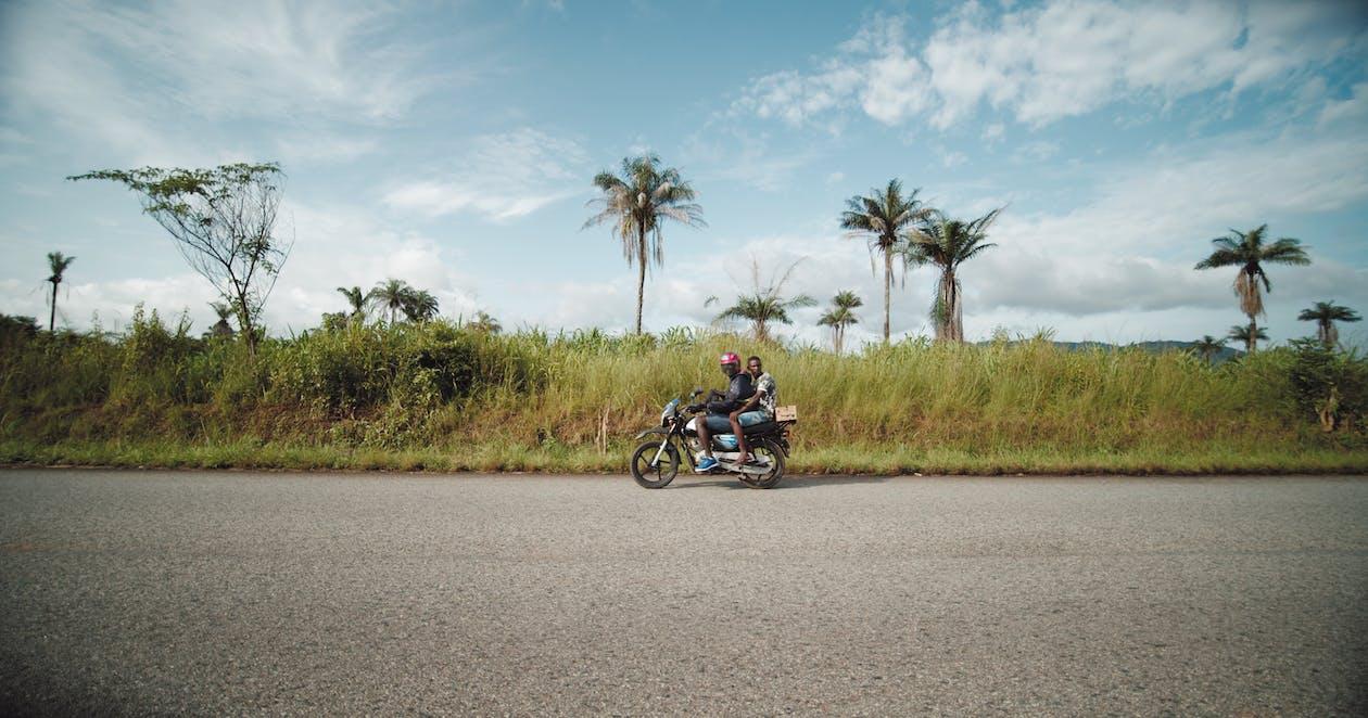 autorijden, bestuurder, biker