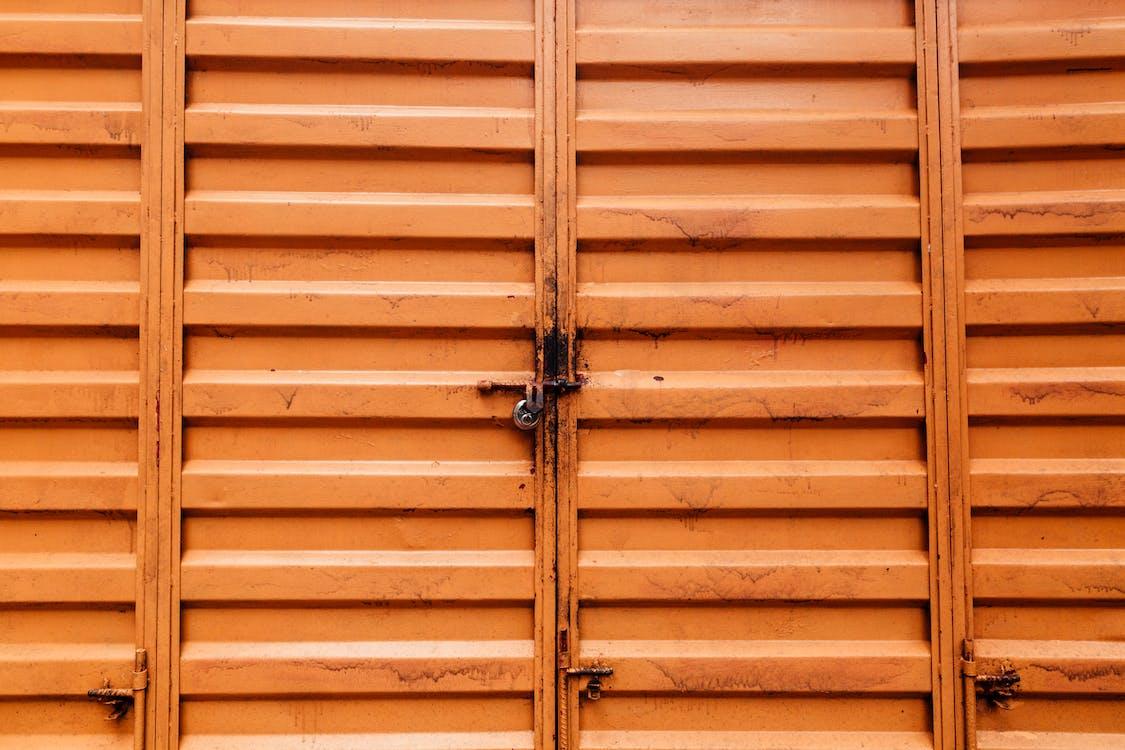 felület, fém, fém ajtók